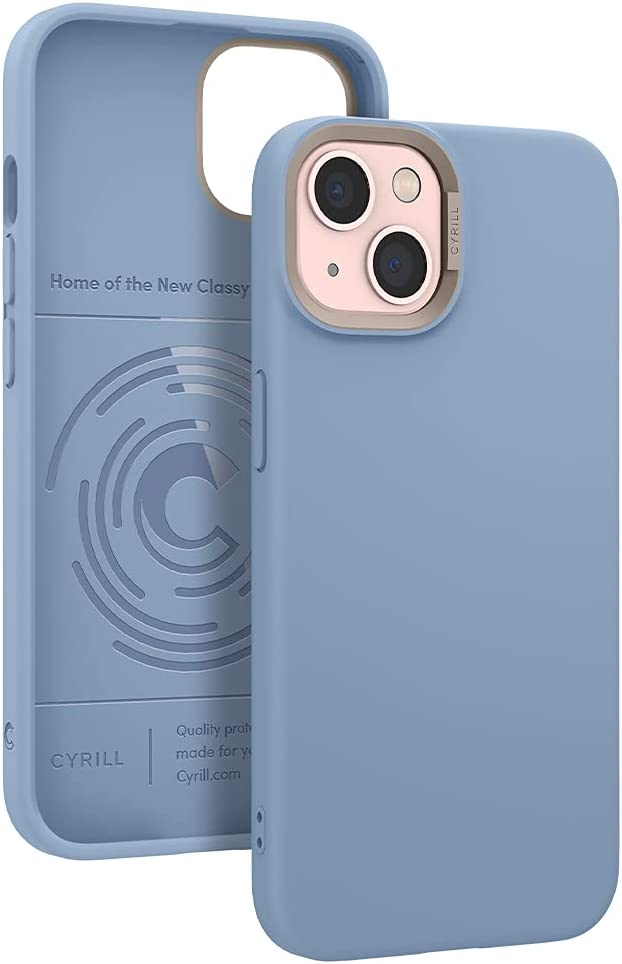CYRILL Color Brick Designed for iPhone 13 Case (2021) - Sky