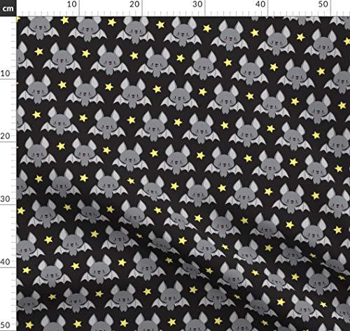 Babys, Tierbabys, Tiere, Niedlich, Baby, Fledermäuse Stoffe - Individuell Bedruckt von Spoonflower - Design von Petitspixels Gedruckt auf Baumwollstoff Klassik