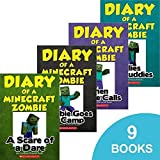 Diary of a Minecraft Zombie Book Vol 1-9