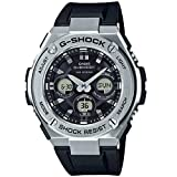 Men's Casio G-Shock G-Steel Solar Stainless Steel and Resin Watch GSTS310-1A