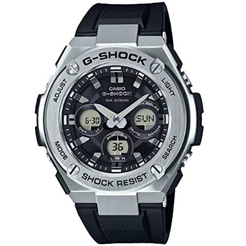 Casio G-Shock Steel Black Dial Polyurethane Strap Men's Watch GST-S310-1A