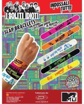 DYNIT armband Idioti 65 mm (1 stuk van foto)