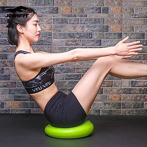 WWJ Almohadilla de Equilibrio, Entrenamiento de rehabilitación, Pelota de Yoga, Placa de Equilibrio, pie de Pelota de Fitness, Equipo de colchón de Aire para pisar