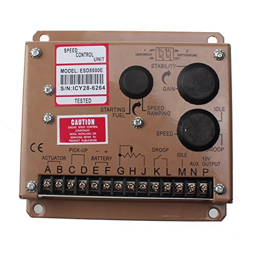 Friday Part Electronic Engine Speed Controller Governor ESD5500E Generator Genset