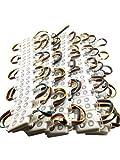YXH LED Modulo 12V (RGB 100 Pz) Fai Da Te Kit Modulo di iniezione piazza, Illuminazione  Led luce del tabellone per le affissioni della lettera, al coperto all'aperto (20 Pz/corda)