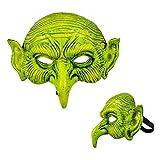 Careta Halloween Bruja Piruja Goma