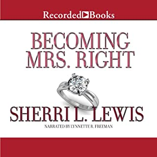 Becoming Mrs. Right audiobook cover art