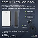 Zoom IMG-2 amanneh power bank 20000mah caricabatterie