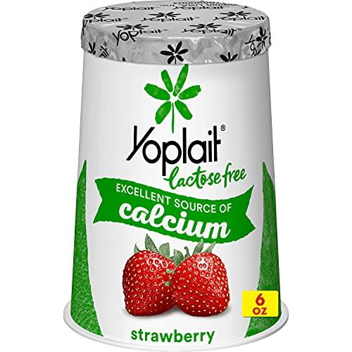 Yoplait Lactose Free Yogurt, Strawberry, 6.0 oz