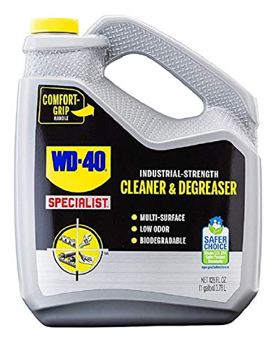 WD40 300363 Specialist Industrial-Strength Cleaner and Degreaser Liquid - 1 Gallon
