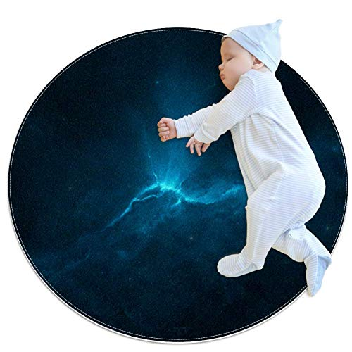 Nebula Space Universe Baby Play Mats - Baby Crawling Mats for Boys and Girls - Children's Room Decor for Play Carpet Floor Carpets