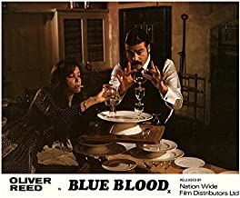 Blue Blood Original Lobby Card Oliver Reed Fiona Lewis Anna Gael