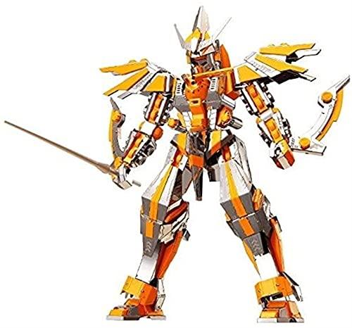 ZBRO Guerra dei trasformatori per Cybertron Rompecabezas de Cuchilla de Metal 3D Bricolaje Modelo de Metal Kit de Rompecabezas de Juguetes de diseño para Adultos y niños. Optimus Prime