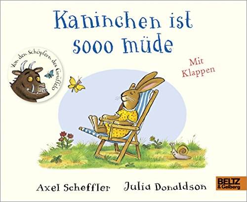 Kaninchen ist sooo müde: Pappbilderbuch mit Klappen