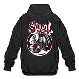 XJBD Men's Popestar-Ghost B.C. Sweater Black Size L