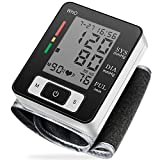 Blood Pressure Monitor Automatic Accurate Wrist Blood Pressure Monitor with Wristband Automatic Wrist Electronic Blood Pressure Monitor (LED Display)