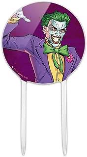GRAPHICS & MORE Acrylic Batman Joker Character Cake Topper Party Decoration for Wedding Anniversary Birthday Graduation