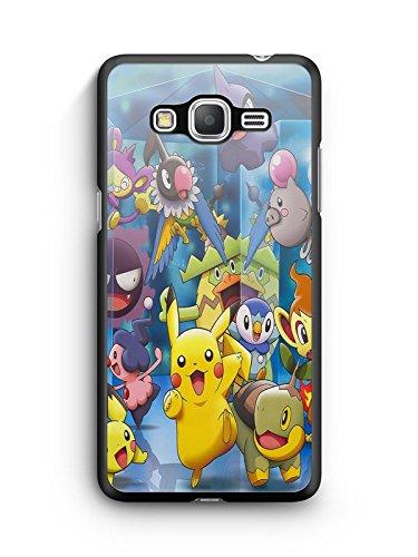 Coque Samsung Galaxy Grand Prime Pokemon go team pokedex Pikachu Manga valor mystic instinct case