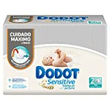 Dodot Sensitive - Toallitas para bebés, 108 unidades