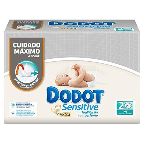 Dodot Toallitas Sensitive Duopack 108 Unidades