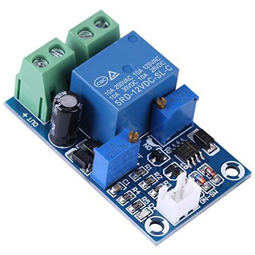 12V 10A-Schutzplatine, Unterspannungsschalterbatterie Niederspannungsabschaltung Automatisches Schutzmodul zur Wiederherstellung des Schalters für längere Batterielebensdauer mit LED-Anzeige