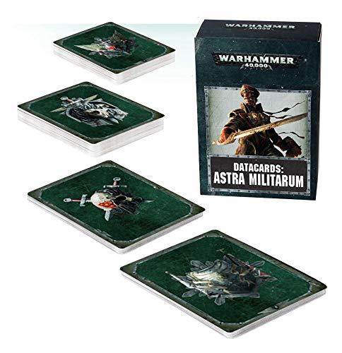 Warhammer Games Workshop Datacards Astra Militarum