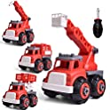 Fun Litttle Toys 4 in 1 Rescue Firetruck Set