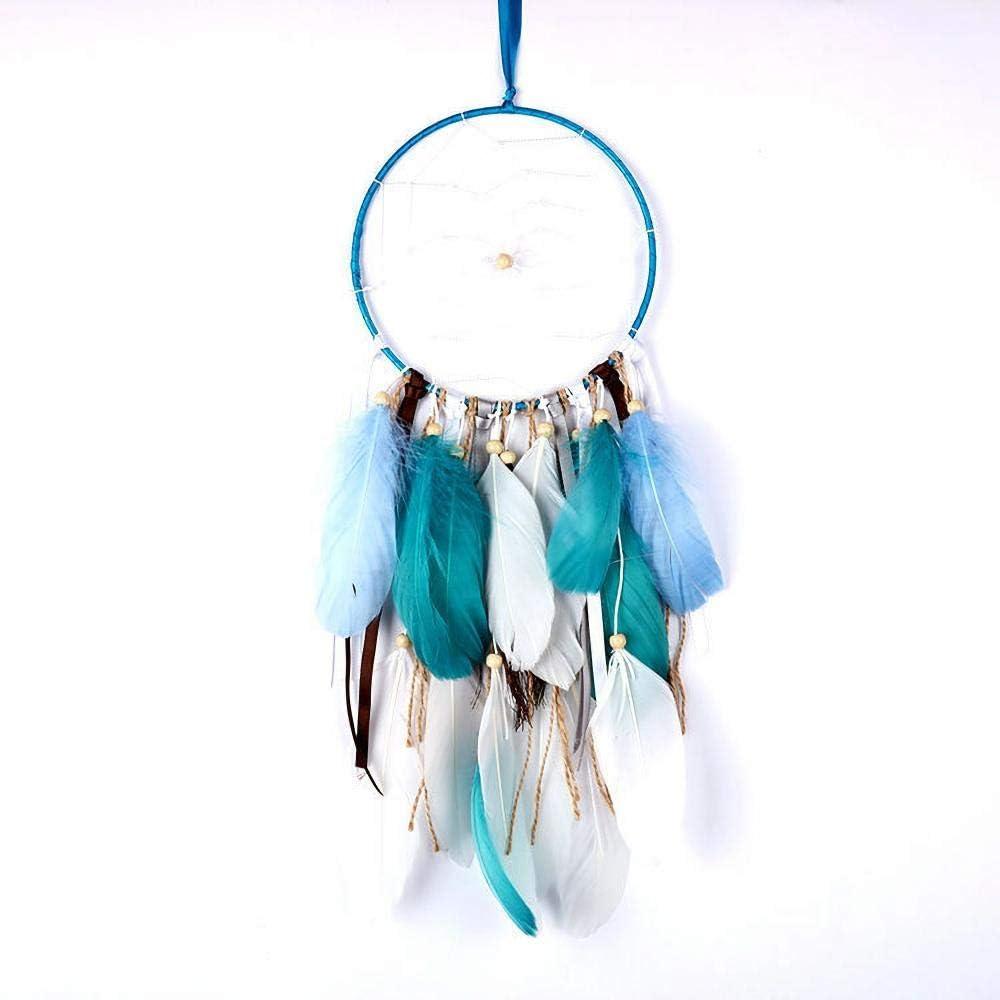 Virginia Beach Mall Dream sale Catcher Decoration Blue Small Tradi Handmade