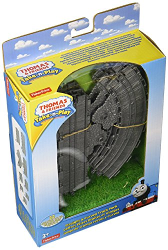 Thomas & Friends Take-n-Play Straight & Curved Track Pack