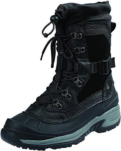 Northside Men's Bozeman Snow Boot, Black, 9 Medium US