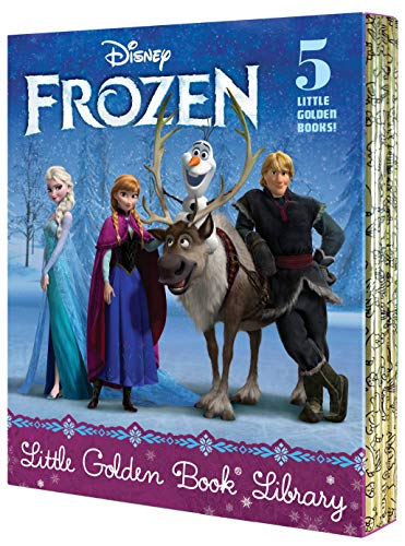 5-Book Little Golden Book Disney Frozen Library Hardcover Set $14.52 ($2.90 Each) + FS w/ Prime, FS on $25 or FS w/ Walmart+, FS on $35+