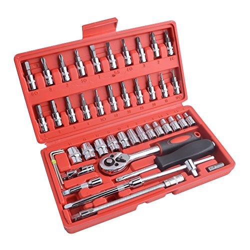 Juego de herramientas de 46 piezas