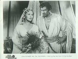 Virginia Mayo Rex Harrison King Richard and the Crusaders 1954 8x10 Restrike