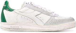 Luxury Fashion | Diadora Heritage Men 201174751C7128 Green Leather Sneakers | Spring-summer 20