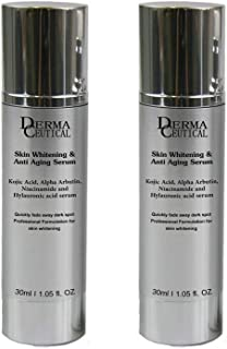 x2 Skin Whitening SERUM Kojic Acid, Arbutin, Hylauronic Acid- DermaCeutical
