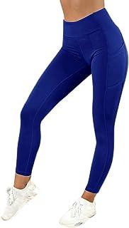 YWLINK Damen Hohe Taille Mode Leggings Workout Fitness Hosen Sport Fitnessstudio L/äUft Yoga Sportliche Hosen Klassisch Stra/ße Jogging Hosen Bunt