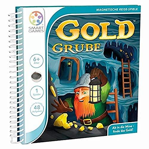 Gold Grube: Ab in die Mine - finde das Gold. Magnetisches Reise-Spiel