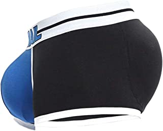 Enerhu Men Hip Briefs Low Rise Trunks Enhancing Padded Underpants for Butt Front