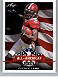 2020 Leaf Draft #66 CeeDee Lamb RC - Oklahoma Sooners Dallas Cowboys (All-American) (RC - Rookie Card) NM-MT NFL Trading Football Card. rookie card picture