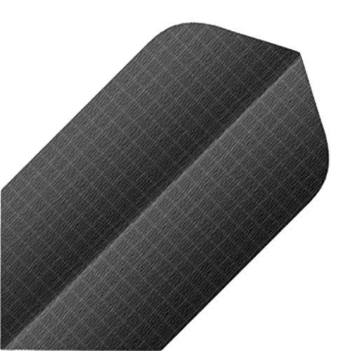 Unbekannt BULL'S Nylon Dart Flights Slim 6 Sätze Textilstruktur grau