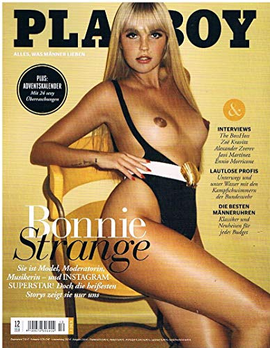 Playboy 12/2018 Dezember Bonnie Strange