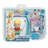 Cicciobello- CCB Amicicci Time, Tenero Bebè Biondo, Mini Play Set con Personaggio Morbidoso, Multicolore, CC000000