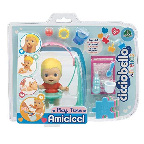 Cicciobello Amicicci, Bébé avec Set Balançoire et Accessoires, Jouet pour Enfants dès 3 Ans, CC000, CC000000, Multicolore