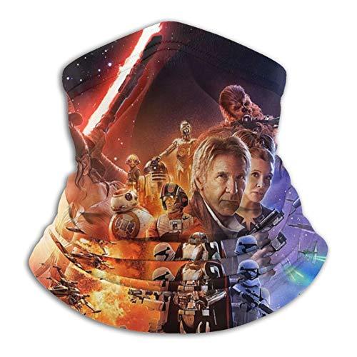 Star Wars Multifunktionale Schlauch-Kopfbedeckung, Halstuch, Kopfbedeckung für Frauen, magisches Kopftuch, Gesichtsmaske, Sturmhaube, Schweißband zum Angeln