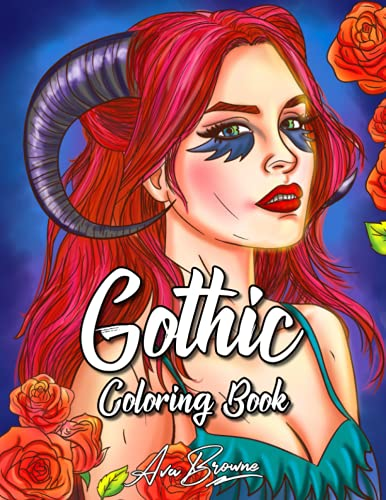 Compare Textbook Prices for Gothic Coloring Book: Adult Coloring Book Featuring Gothic and Dark Fantasy Scenes  ISBN 9798477495801 by Browne, Ava