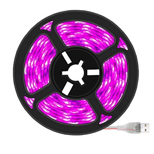 USB 1m LED Luces de la Planta de Gaza de la lámpara a Prueba de Agua Planta Planta de Crecimiento Crecimiento Lámpara Full Spectrum