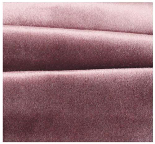Tessuto Velluto Tappezzeria Colori Assortiti Velvet a Metraggio 100x145cm-_18 Rosa Cipolla