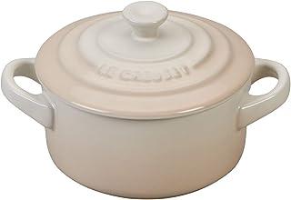 Le Creuset Stoneware Mini Round Cocotte, 8 oz., Meringue
