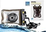 Navitech Schwarzes Wasserfestes Case / Cover / Hülle / Unterwasserkamerahülle für Canon PowerShot A1200 / PowerShot A2200 / PowerShot A2500 / PowerShot A2600 / PowerShot A3200 IS / PowerShot A3300 IS / PowerShot A4000 IS / PowerShot A800