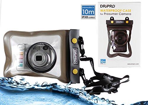 Navitech Black Waterproof Underwater Housing Case/Cover Pouch Dry Bag Compatible with The Ricoh WG-20 / GR / CX6 / GR Digital IV/PX / CX5 / CX4 / GXR/RICOH Lens P10 / CX3 / GXR/RICOH Lens S10
